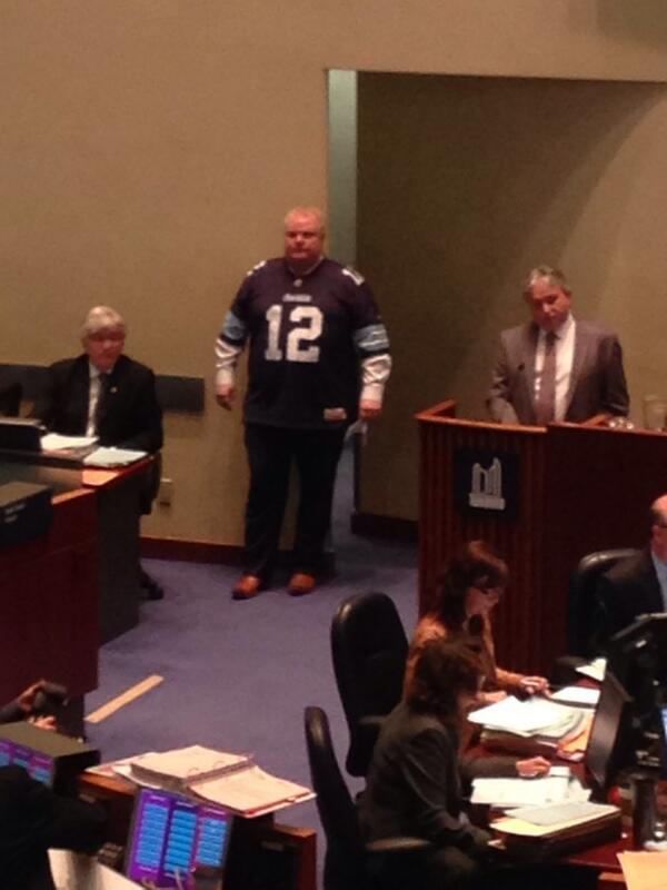 mayor ford jersey