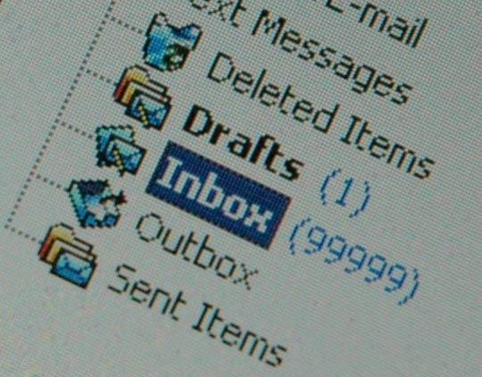inbox full