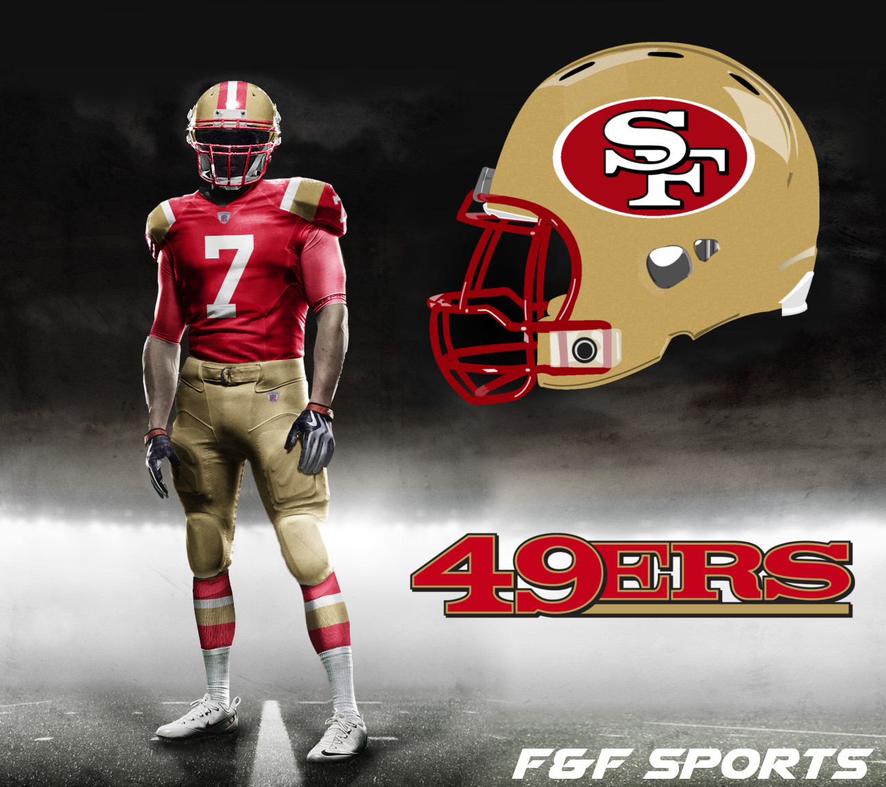 huge selection of 17131 fd1a4 NFL Uniform Concepts Day 14 – San Francisco 49ers – F&F Sports