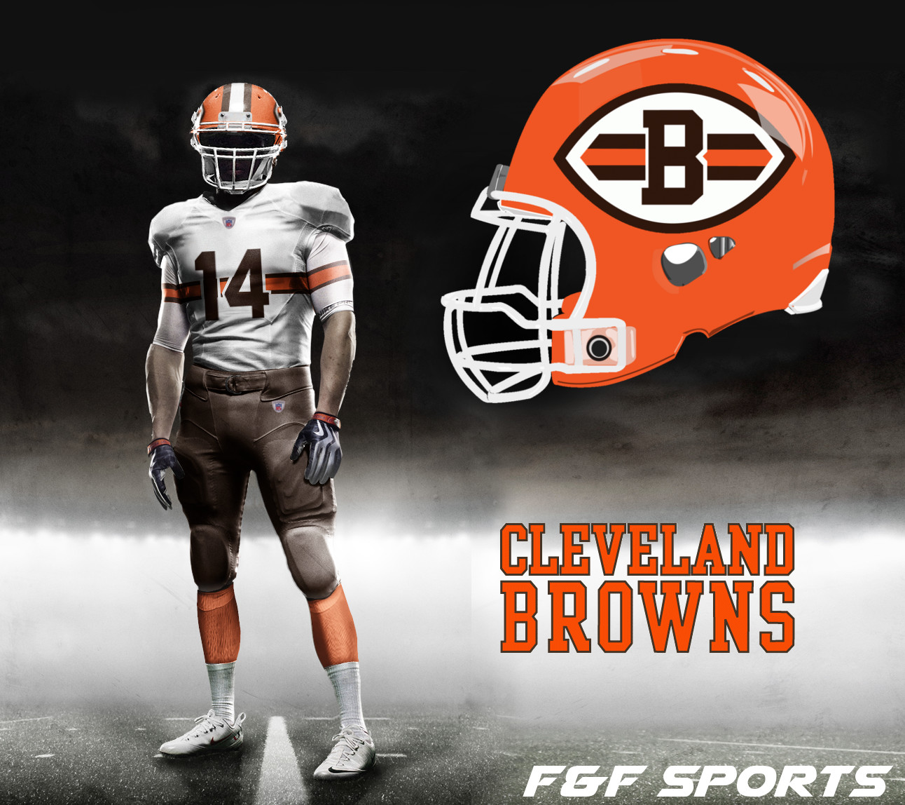 online retailer e00c8 ae08e NFL Uniform Concepts Day 8 – Cleveland Browns – F&F Sports