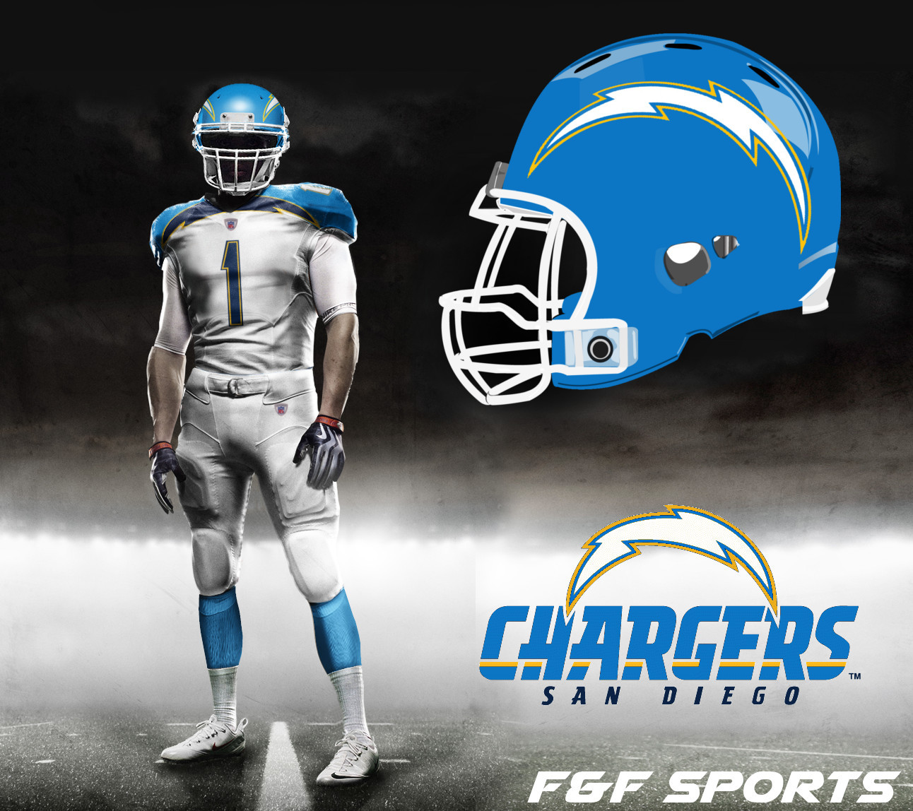 San Diego Chargers Costume: March Madness 32 Teams In 31 Days: 3/20