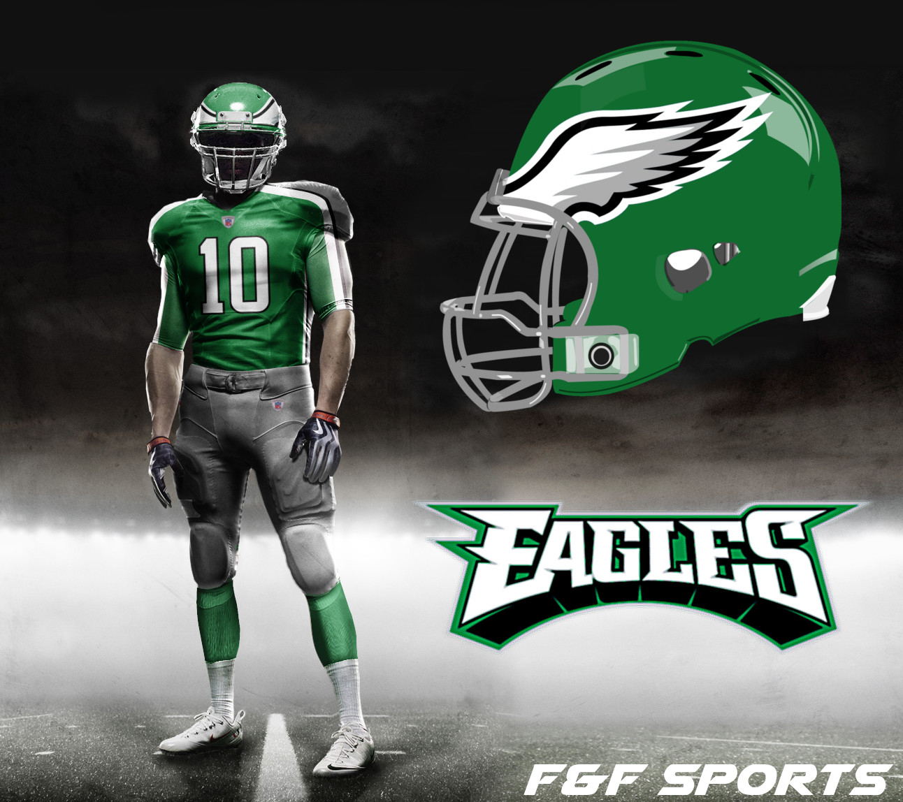 Philadelphia Eagles F Amp F Sports
