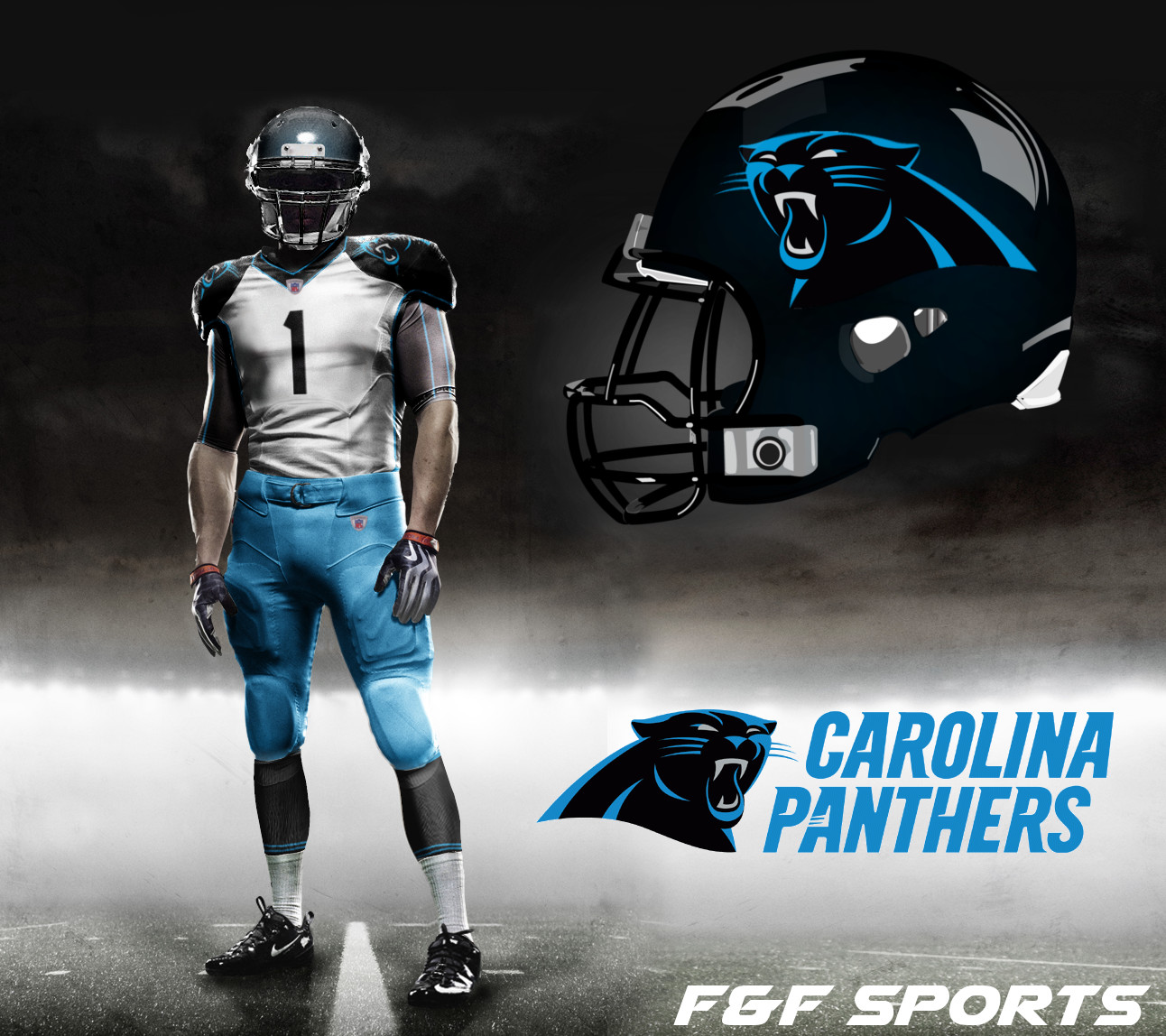 Nfl Uniform Concepts Day 9 Carolina Panthers F Amp F Sports