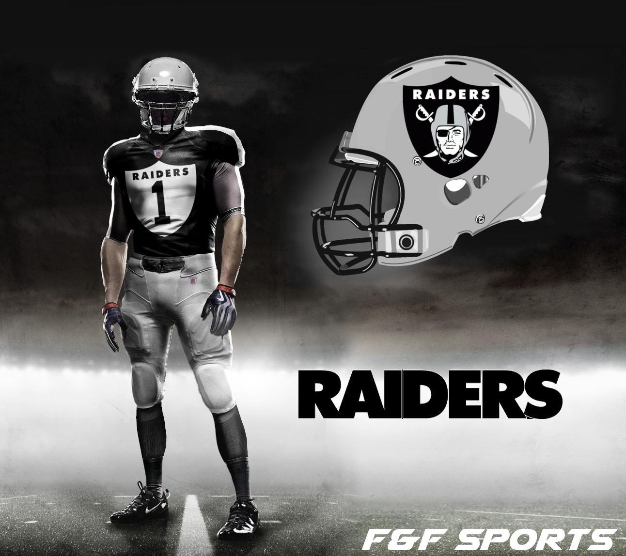 Oakland Raiders Nike Uniforms Oakland raiders