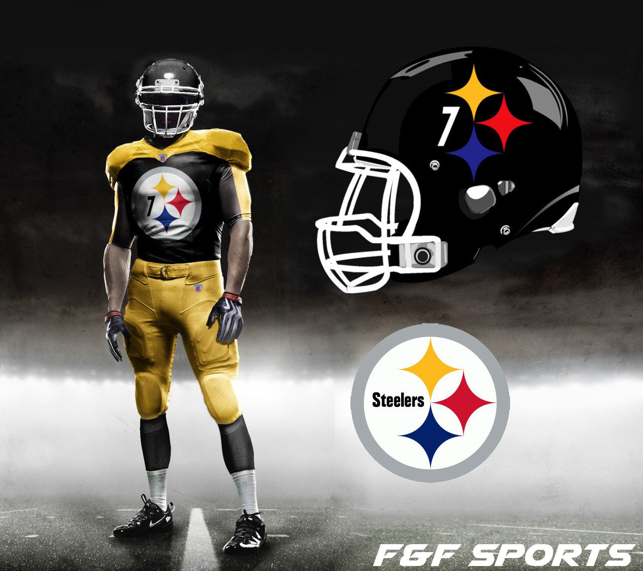 innovative design 52d5b 23bc4 new pittsburgh steelers jersey stripes