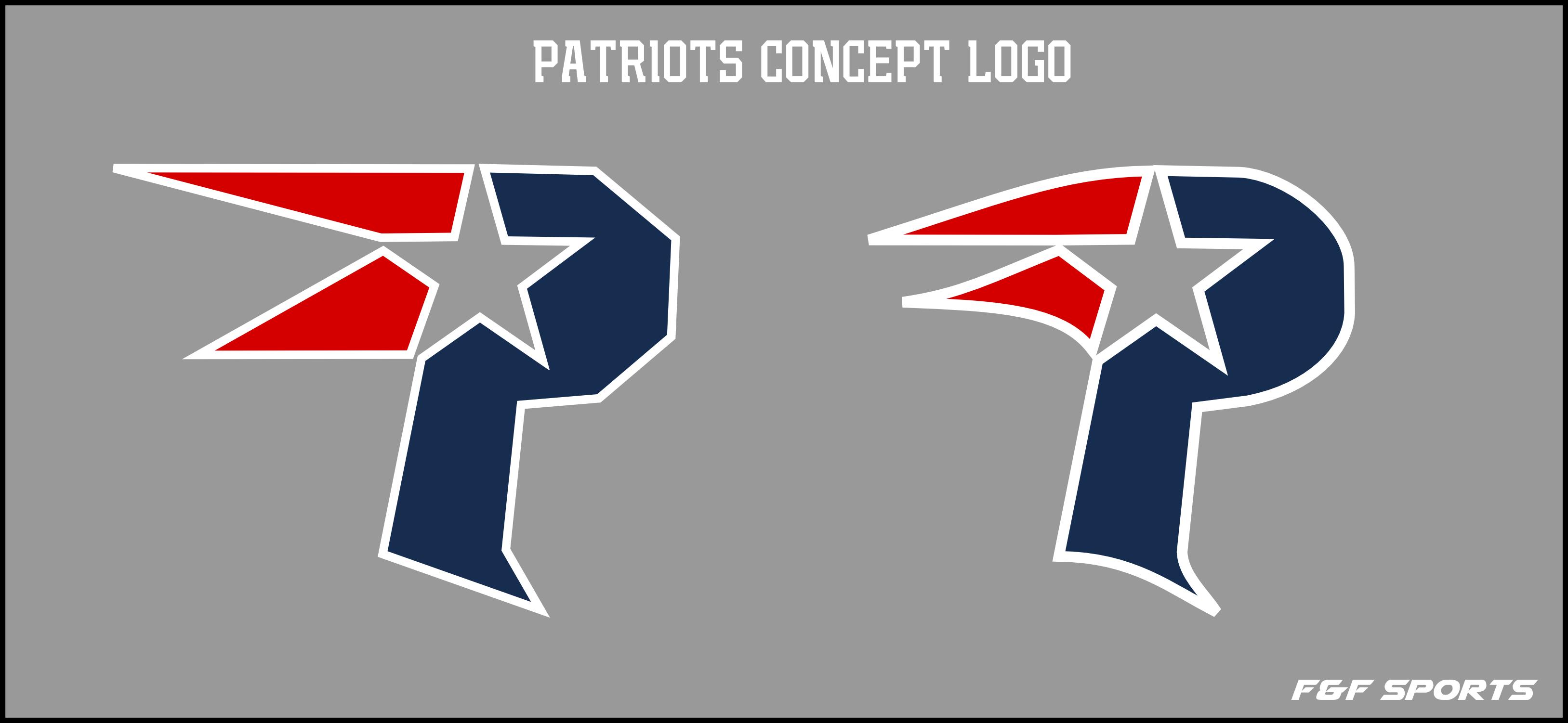 New England Patriots Logo Concept Uniform Added 23 Concepts
