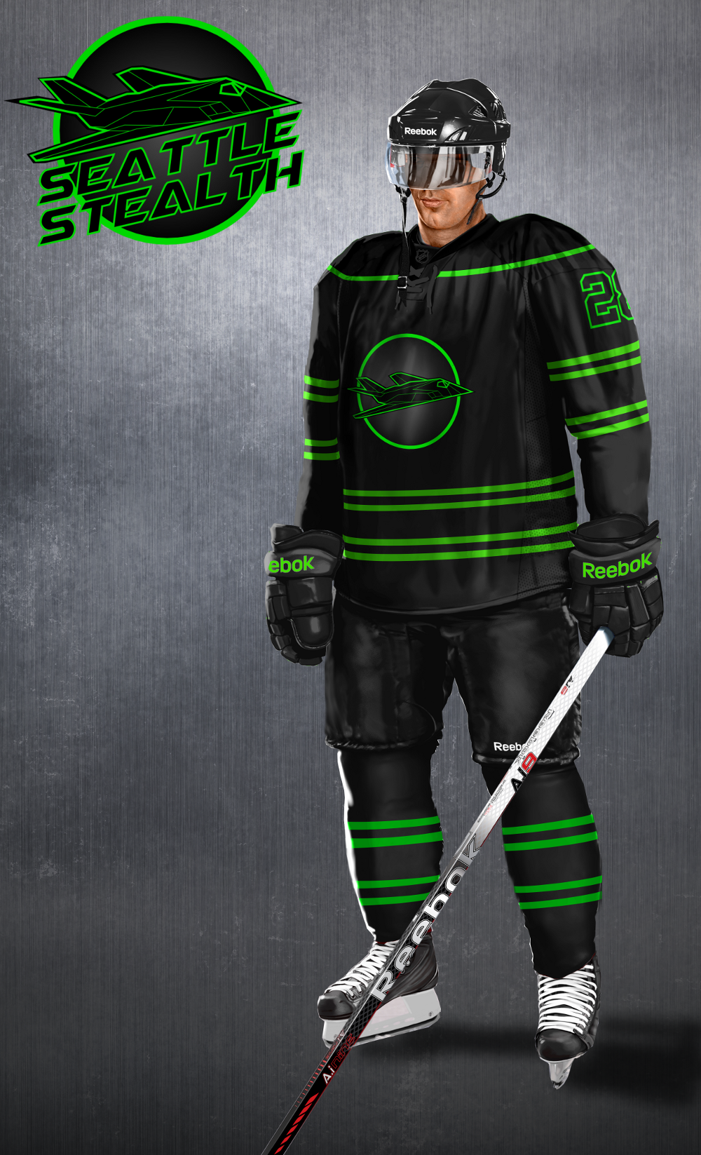 NHL Concept - Seattle Stealth - Concepts - Chris Creamer s Sports ... a0b4b0064