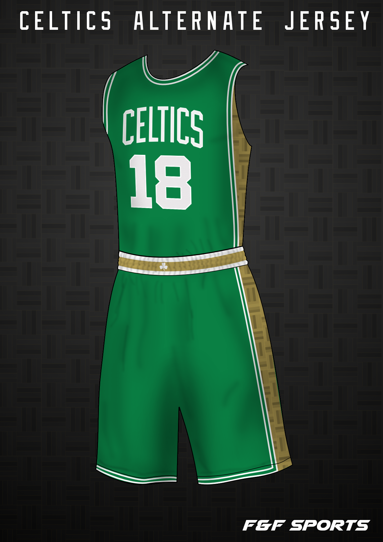 promo code cd389 73c91 Boston Celtics Alternate Jersey Concept - Concepts - Chris ...