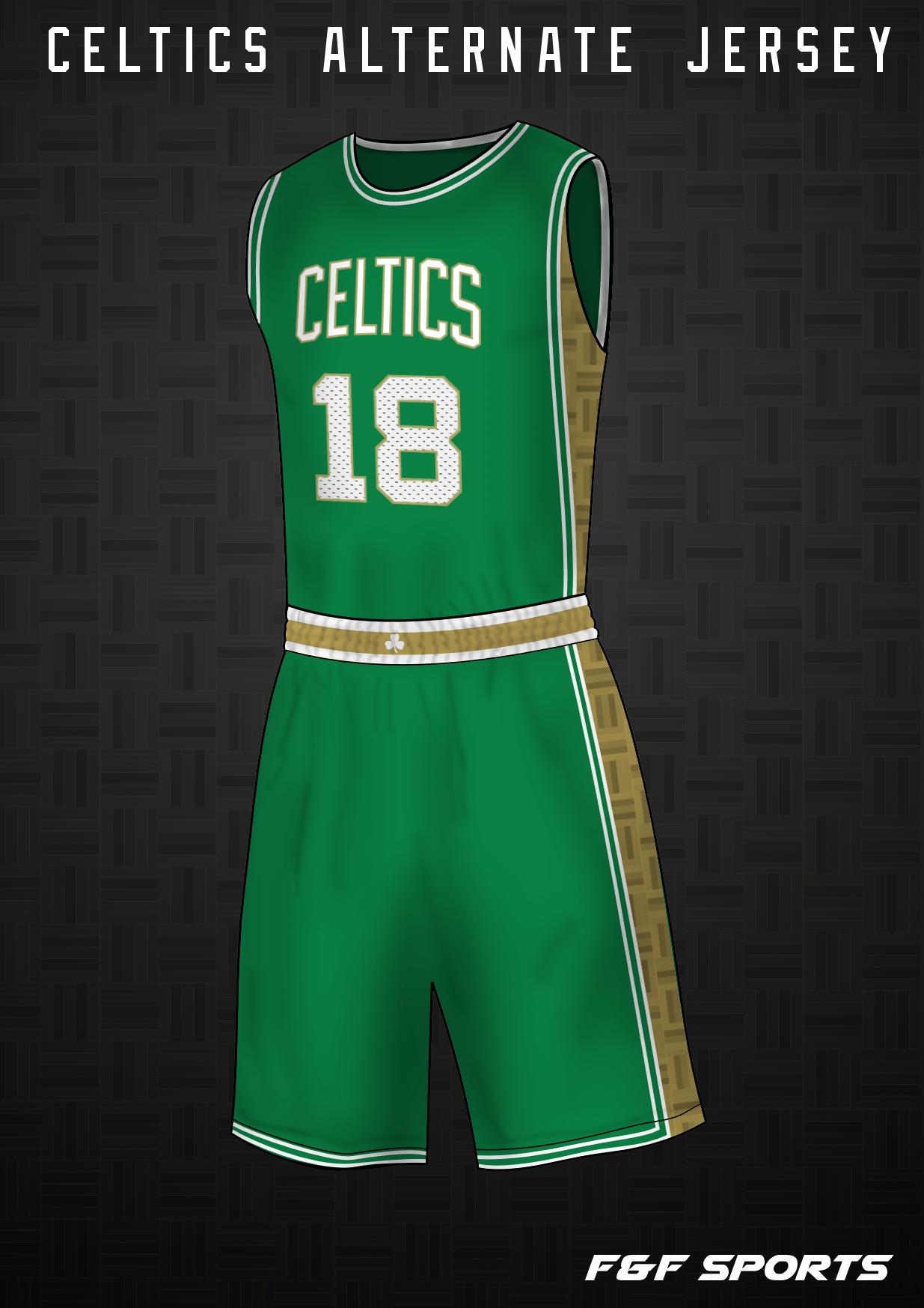 Boston Celtics Alternate Jersey Concept Concepts Chris Creamer S Sports Logos Community Ccslc Sportslogos Net Forums