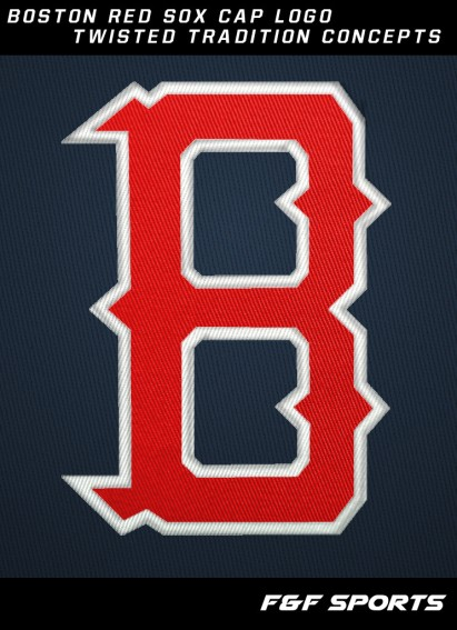 Red Sox new B logo