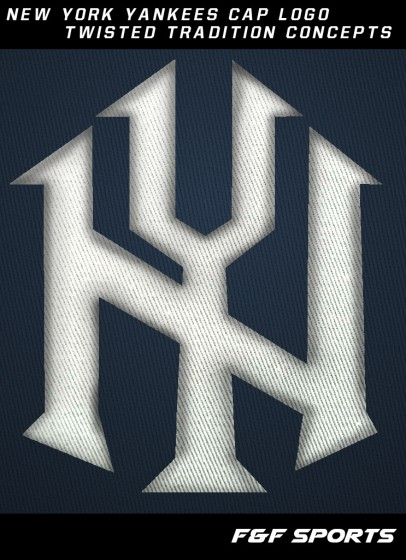 Yankees new cap logo